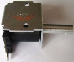 Linear Solenoid C Open frame Pull Push Solenoids